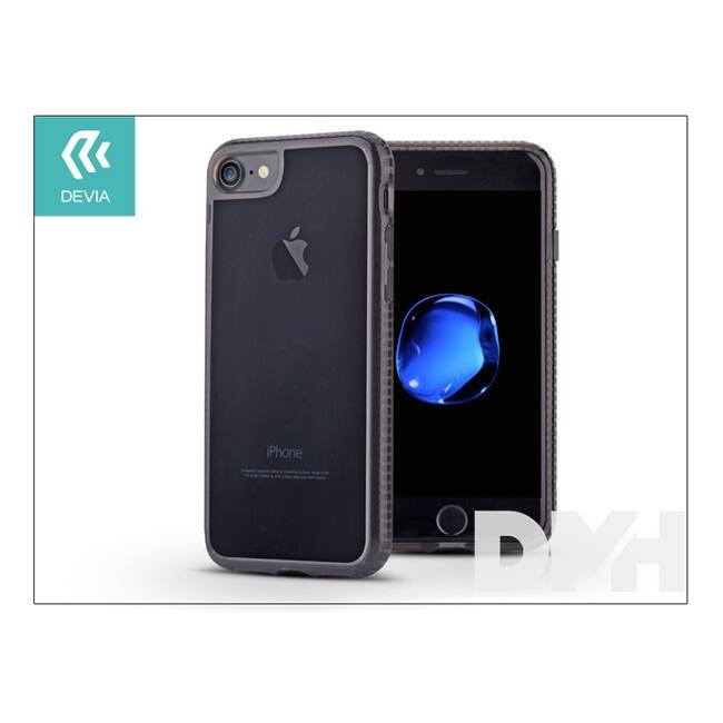 Devia ST000324 SHOCKPROOF iPhone 7 fekete hátlap