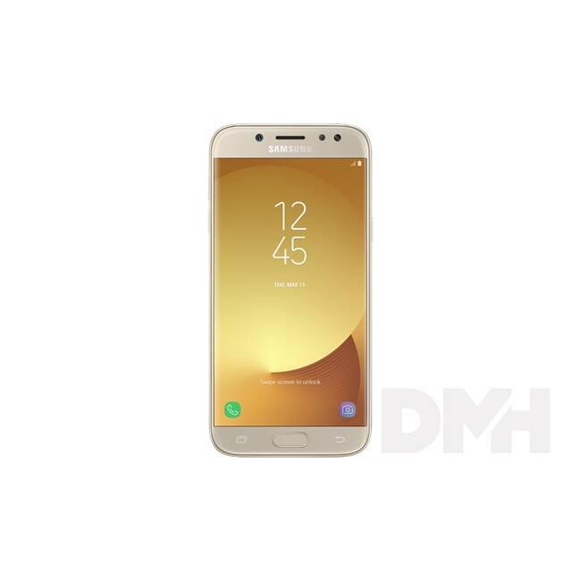 """Samsung Galaxy J5 SM-J530F 5.2"""" LTE 16GB Dual SIM arany okostelefon"""