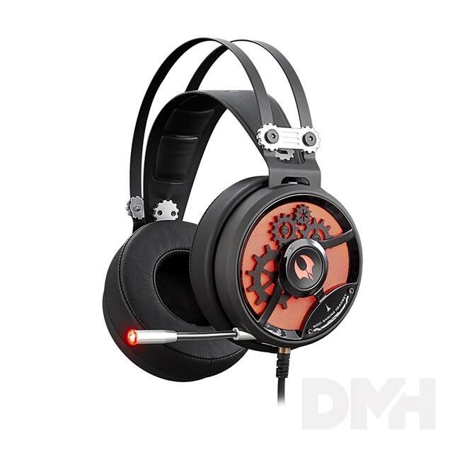 A4-Tech M660 Bloody Golden Sound fekete-piros gamer headset