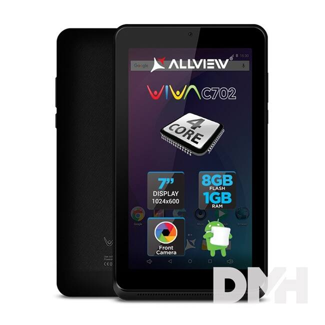 "Allview Viva C702 7"" 8GB Wi-Fi fekete tablet"