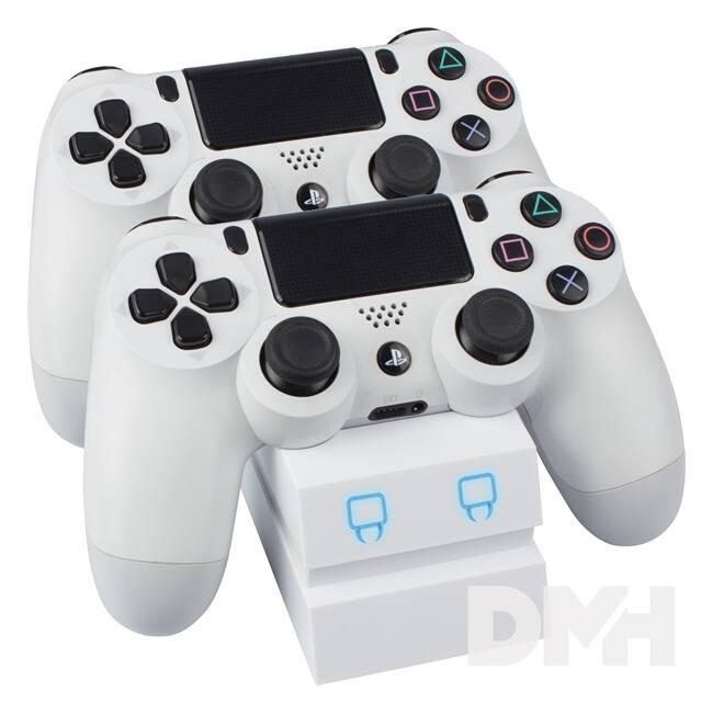 Venom VS2737 PS4 fehér dupla töltőállomás