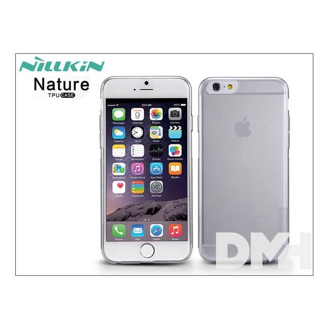 Nillkin NL290698 NATURE iPhone 6 vékony átlátszó szilikon hátlap
