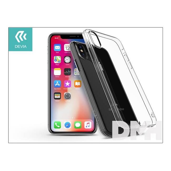 Devia ST300790 ANTI SHOCK iPhone X Crystal átlátszó szilikon hátlap