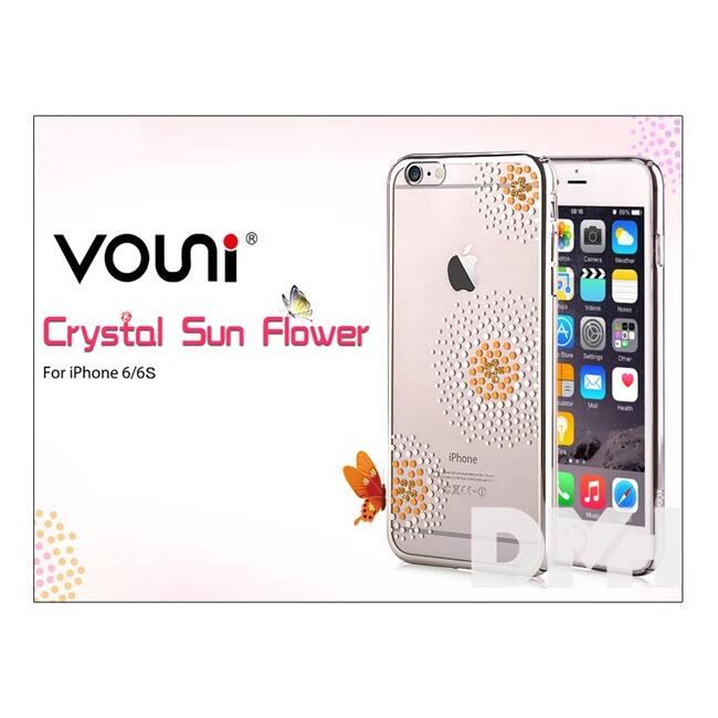 Vouni ST969325 Crystal SUN iPhone 6/6S ezüst hátlap