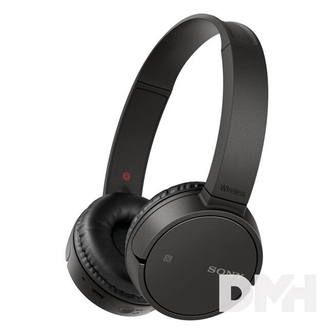 Sony WHCH500B Bluetooth fekete fejhallgató headset