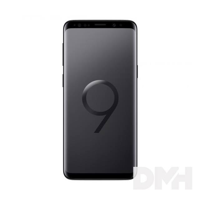 "Samsung Galaxy S9 5,8"" LTE 64GB Dual SIM fekete okostelefon"