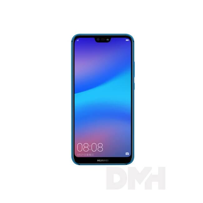"Huawei P20 Lite 5,84"" LTE 64GB Dual SIM lagúna kék okostelefon"