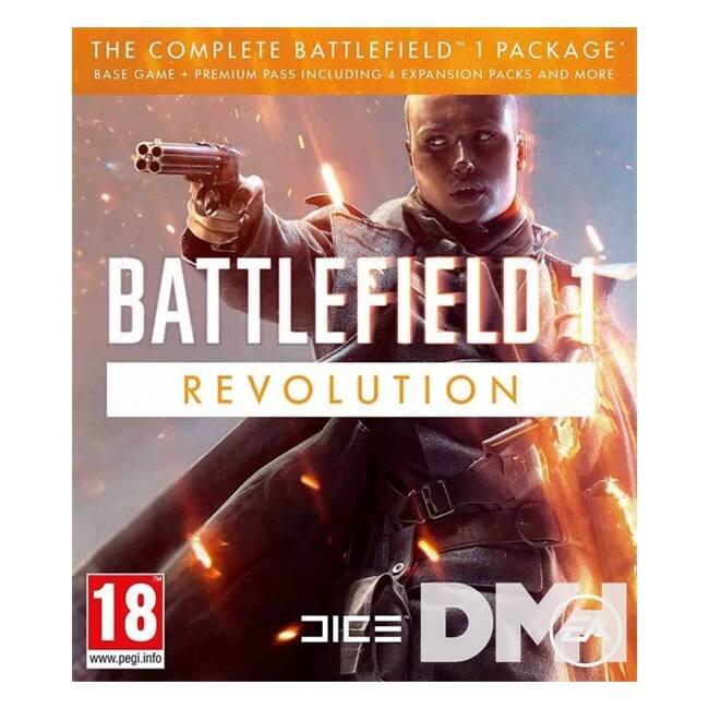 Battlefield 1 Revolution Edition XBOX One CZ/SK/HU játékszoftver