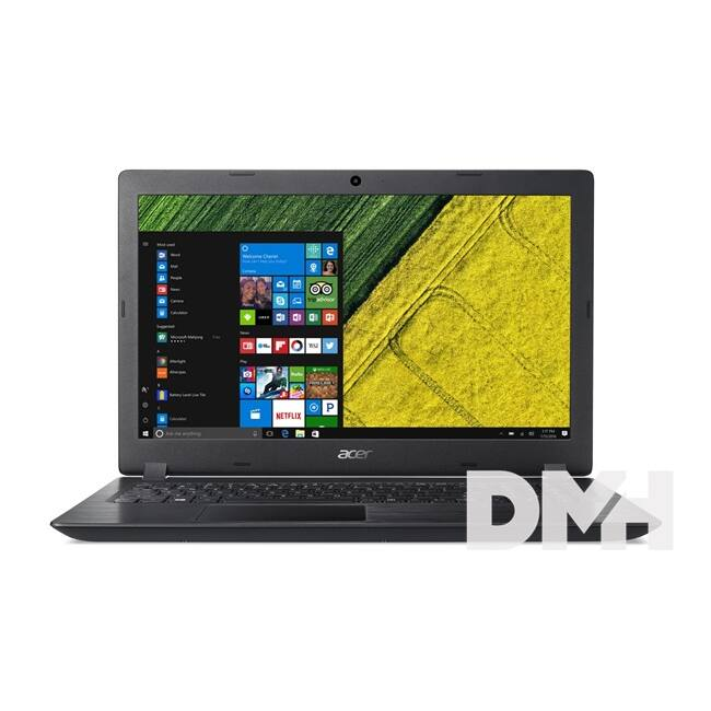 "Acer Aspire A315-21-219F 15,6""/AMD E2-9000/4GB/128GB/Int. VGA/Win10/fekete laptop"
