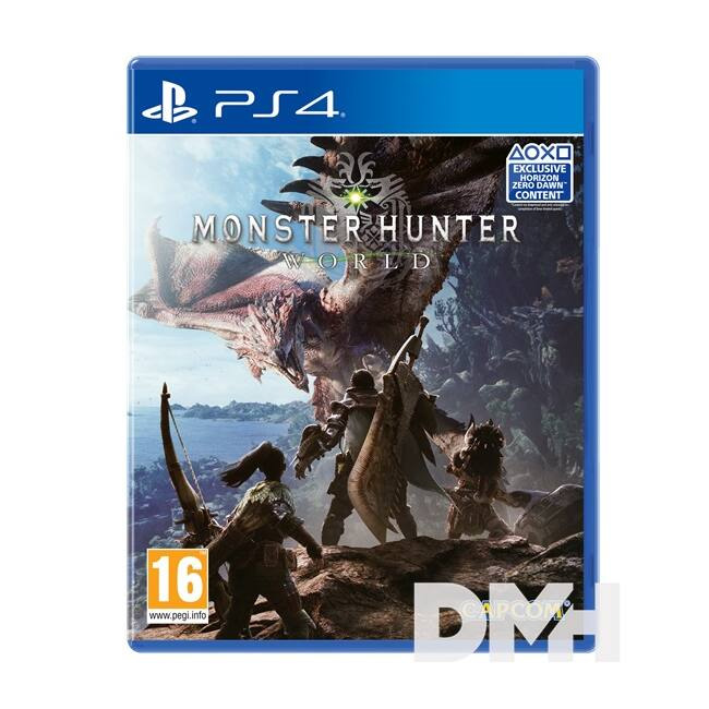 Monster Hunter: World PS4 játékszoftver