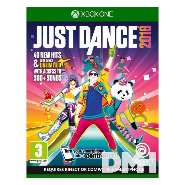 Just Dance 2018 XBOX One játékszoftver