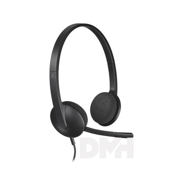 Logitech H340 USB vezetékes headset