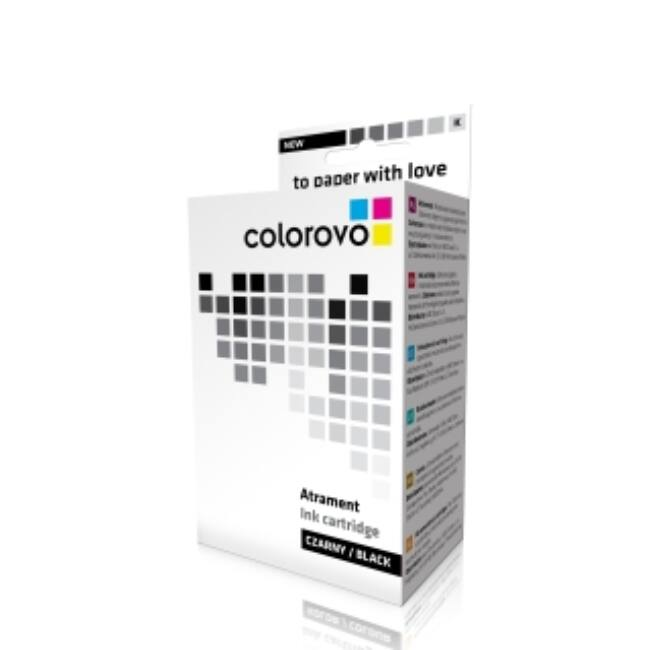 COLOROVO 551-BK | Black | 13 ml | Epson T0551 tintapatron