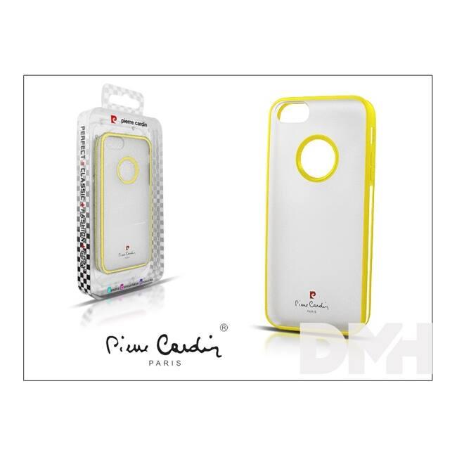 Pierre Cardin iPhone 5 Hátlap sárga