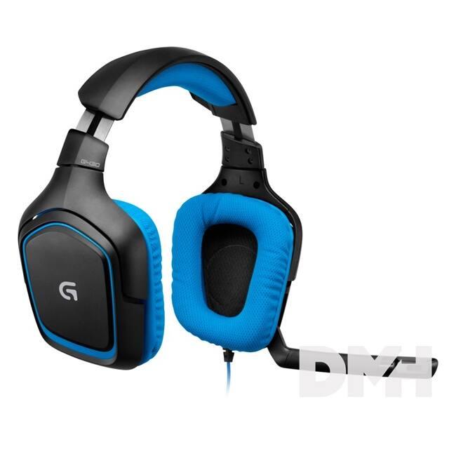 Logitech G430 USB 7.1 vezetékes headset