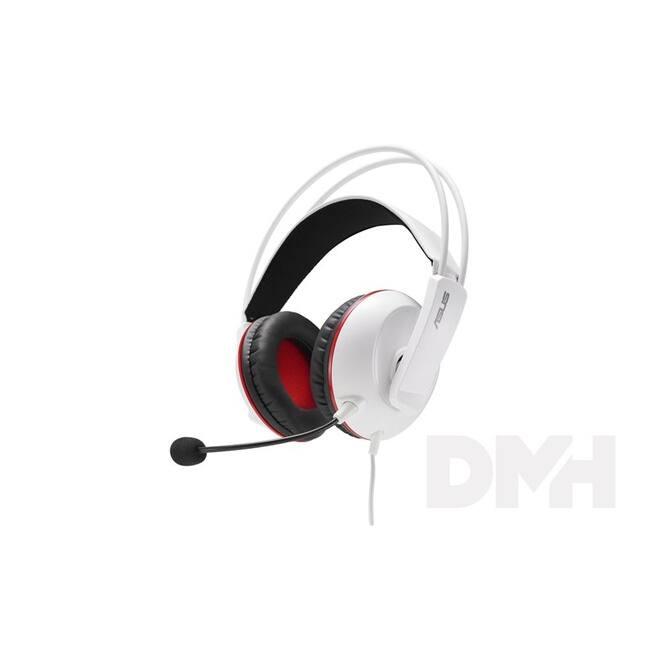 ASUS Cerberus Arctic Fehér Jack Gamer headset