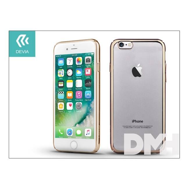 Devia ST992729 Glimmer iPhone 7 pezsgőarany hátlap