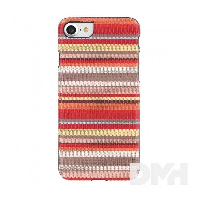 iKin K1442B iPhone 7 Hawai csíkos textil borítású tok
