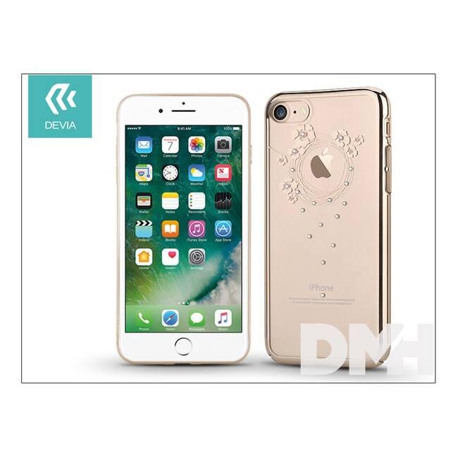 Devia ST994082 Crystal GARLAND iPhone 7 pezsgőarany hátlap