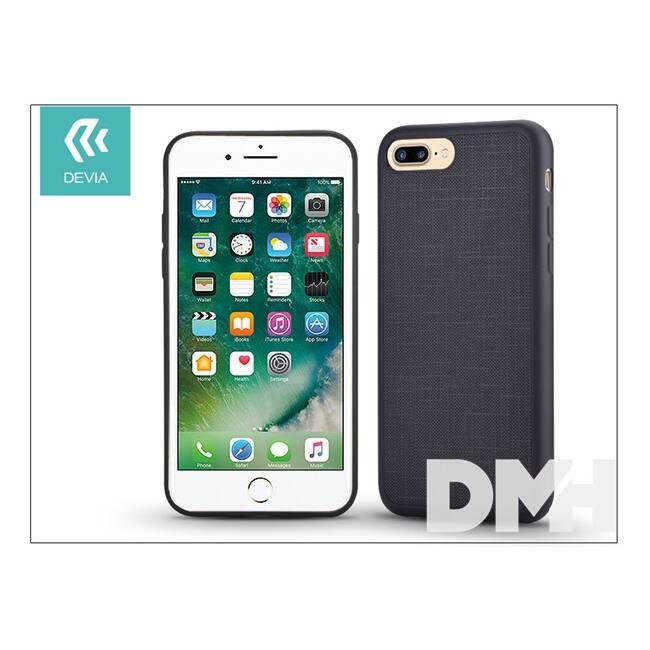 Devia ST993016 JELLY SLIM iPhone 7+ fekete hátlap