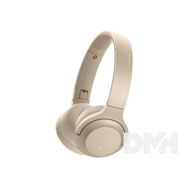Sony WHH800 Hi-Res Bluetooth arany fejhallgató headset aptX