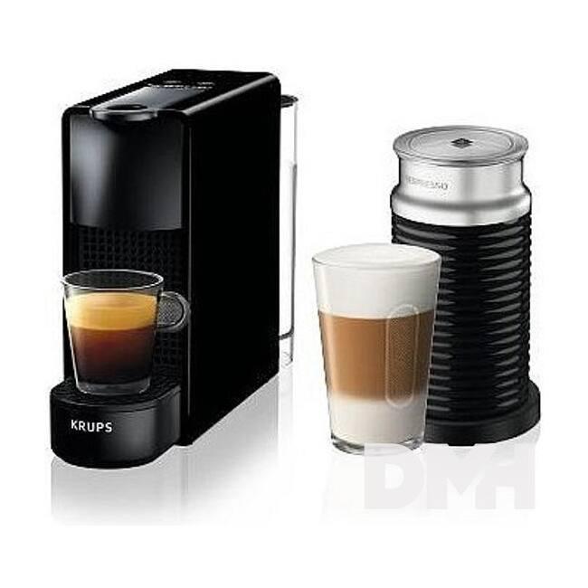 Krups XN111810 Nespresso Essenza Mini & Aeroccino fekete kávéfőző