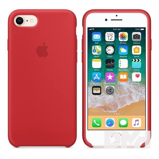 Apple iPhone 7/8 szilikontok piros