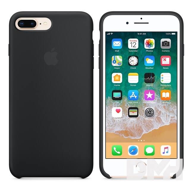 Apple iPhone 7/8 Plus szilikontok fekete