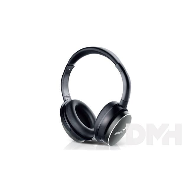 Genius HS-940BT fekete mikrofonos bluetooth fejhallgató