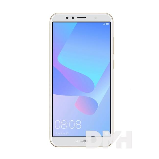 """Huawei Y6 20185,7"""" LTE 16GB Dual SIM arany okostelefon"""