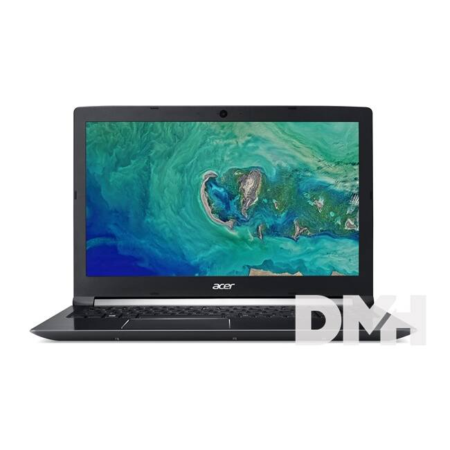 "Acer Aspire A715-72G-52HU 15,6"" FHD IPS/Intel Core i5-8300H/8GB/1TB/GTX 1050 4GB/fekete laptop"