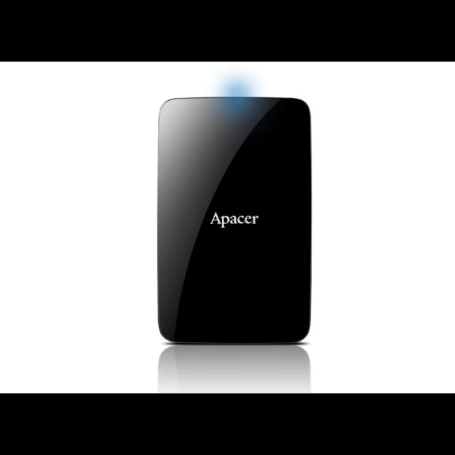 External HDD Apacer AC233 2.5'' 2TB USB 3.1, Black