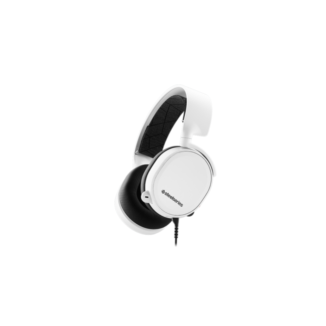 Gaming headset SteelSeries Arctis 3 (2019 Edition) White