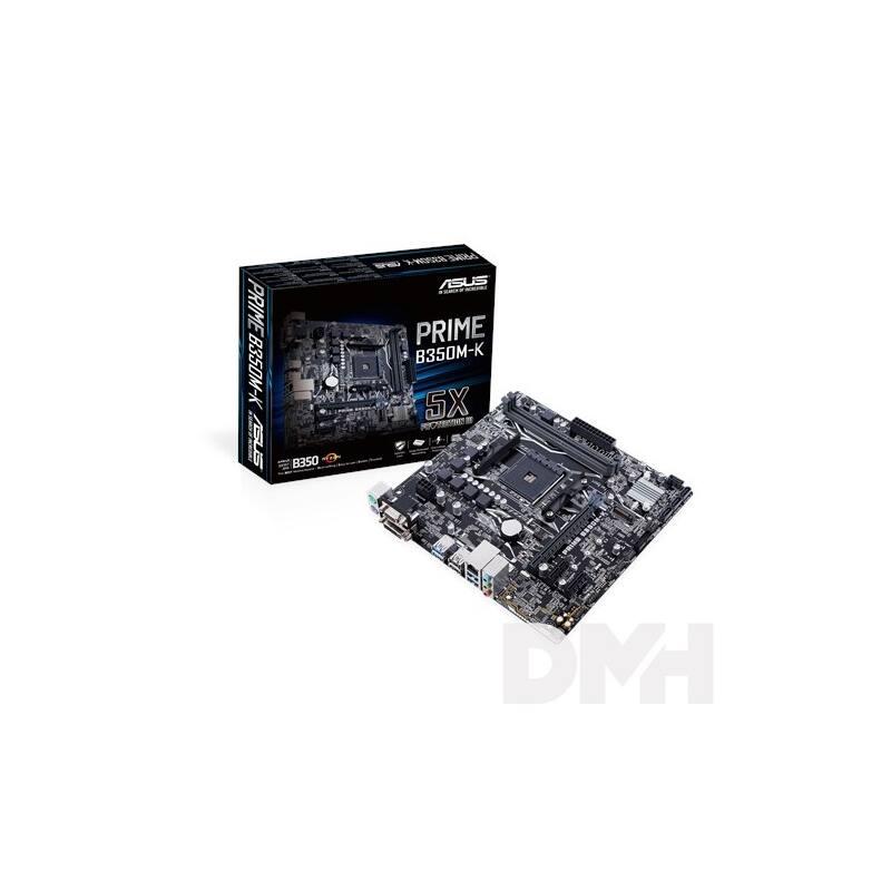 ASUS PRIME B350M-K AMD B350 SocketAM4 mATX alaplap