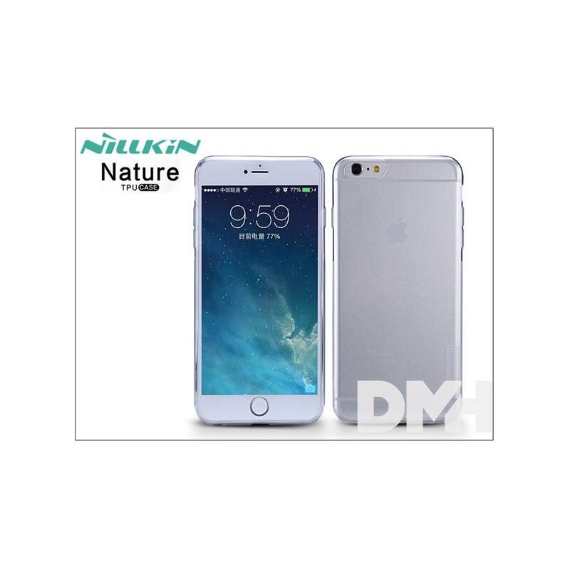 Nillkin NL202790 NATURE iPhone 6+ vékony átlátszó szilikon hátlap
