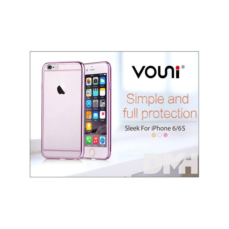 Vouni ST977283 SLEEK iPhone 6/6S rózsa rózsaszín hátlap