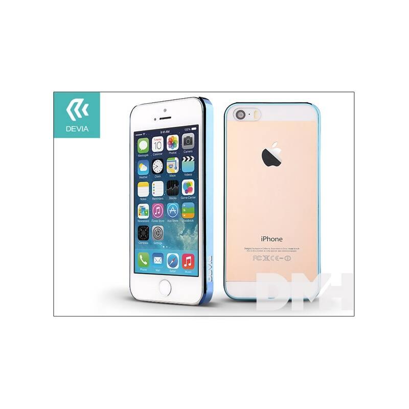 Devia ST983321 GLIMMER iPhone 5/5S/SE kék hátlap