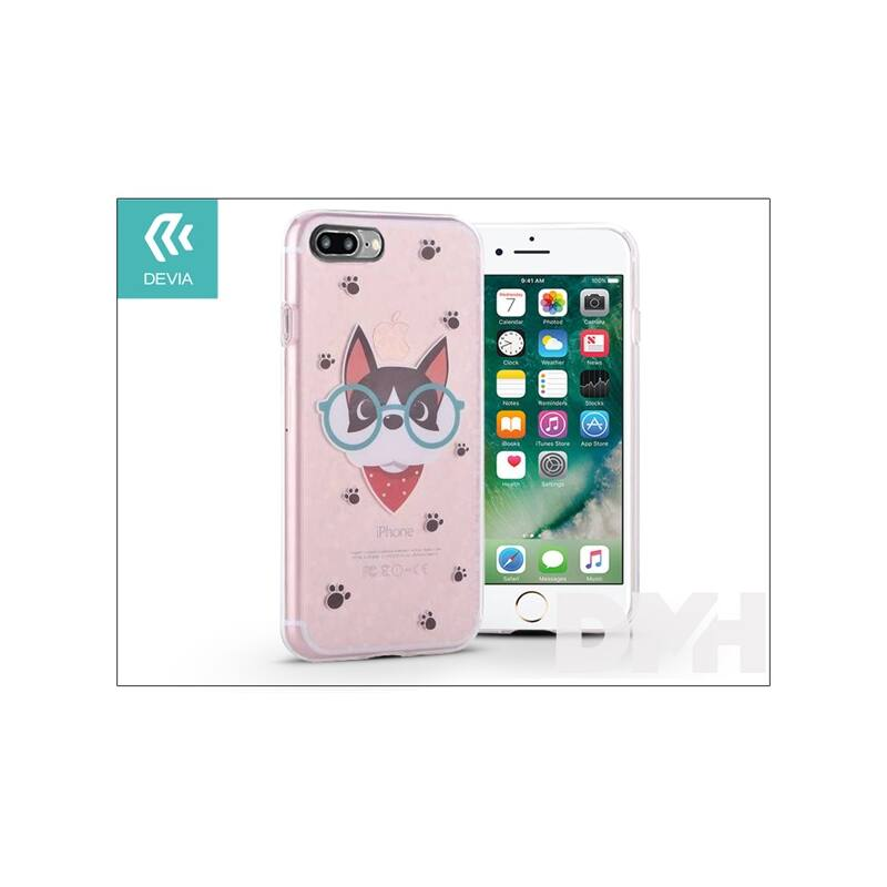 Devia ST995546 NIFTY DR.CAT iPhone 7+ szilikon hátlap