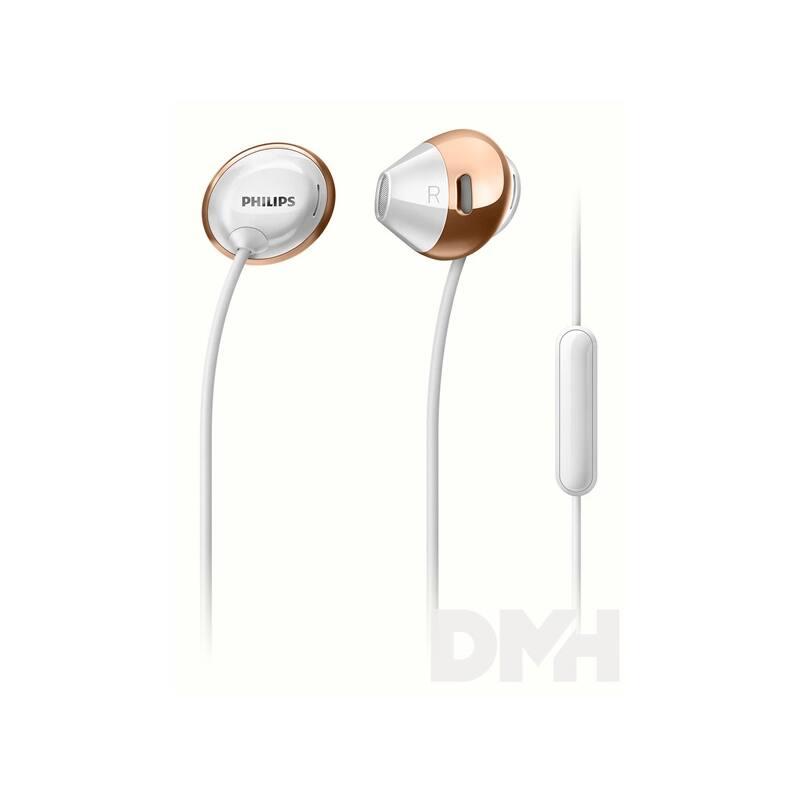 Philips SHE4205WT/00 fehér mikrofonos fülhallgató
