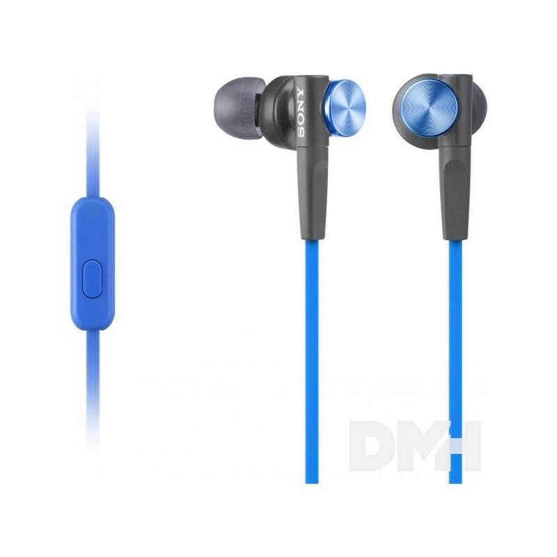 Sony MDRXB50APL.CE7 Extra Bass kék mikrofonos fülhallgató