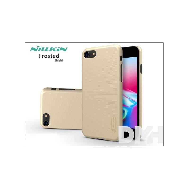 Nillkin NL148130 FR iPhone 7/8 arany hátlap képernyővédő fóliával