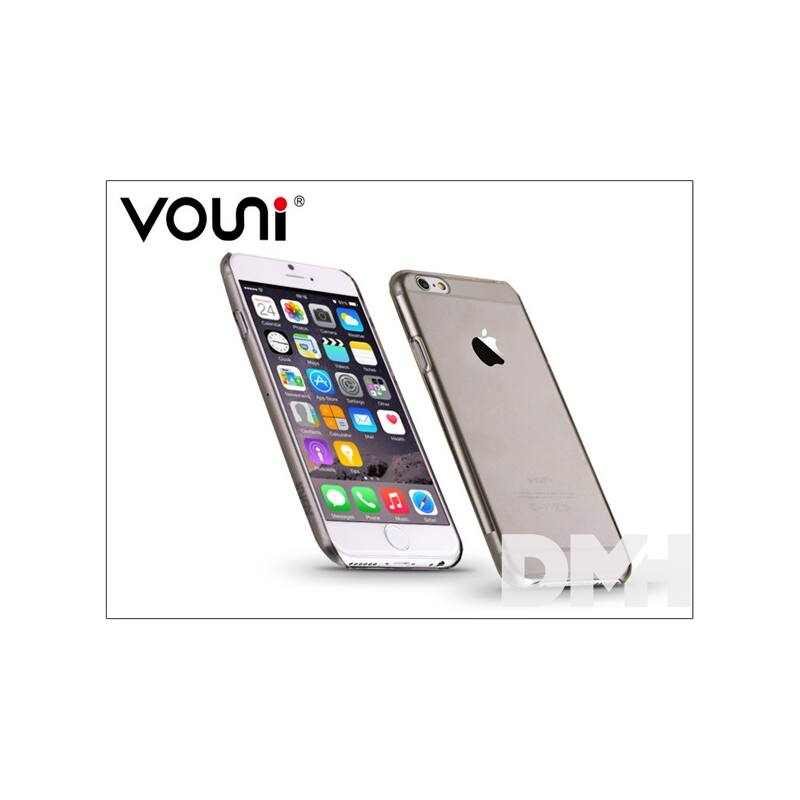 Vouni ST955007 PURE iPhone 6/6S Crystal fekete hátlap