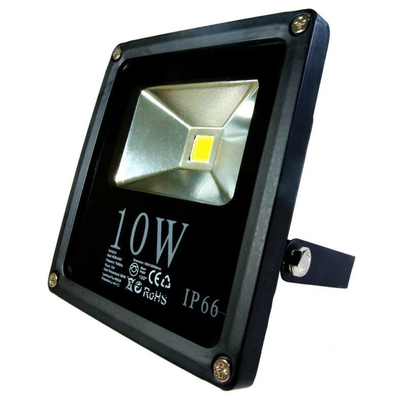 ART külső lámpa LED 10W, SLIM, IP66,AC80-265V,fekete, 4000K-fehér