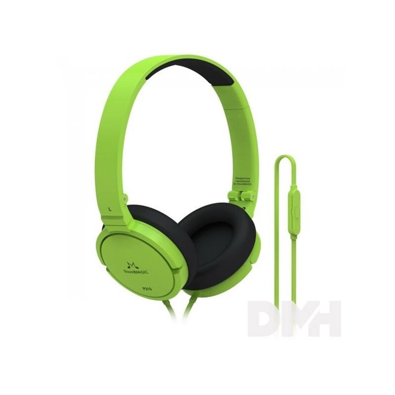 SoundMAGIC P21S On-Ear zöld headset