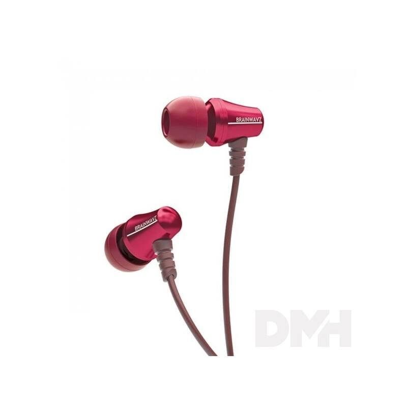 Brainwavz Jive In-Ear piros fülhallgató headset