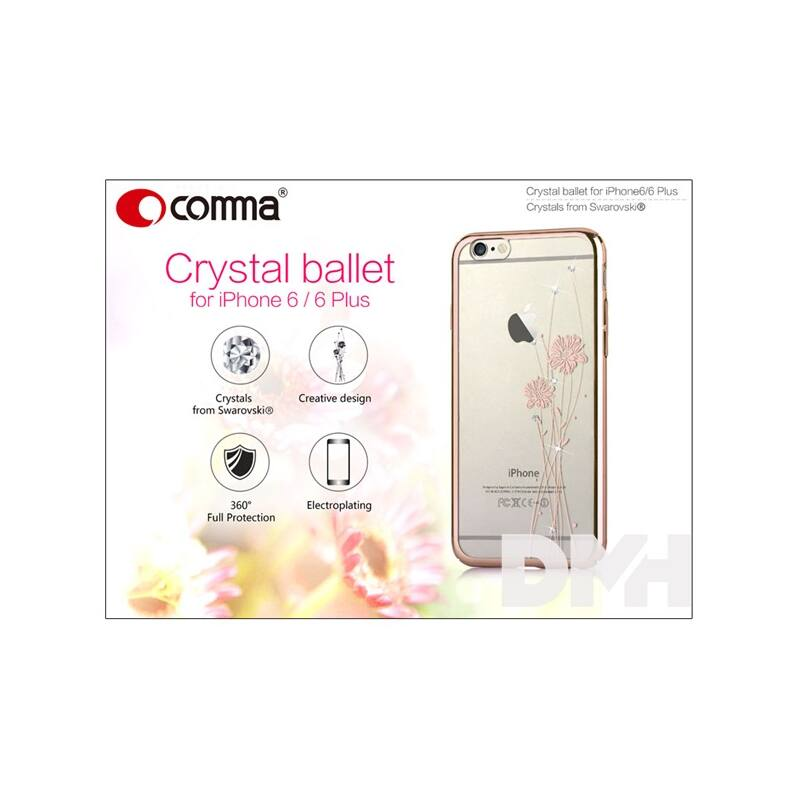 Comma ST977429 CRYSTAL BALLET iPhone 6/6S pezsgőarany hátlap