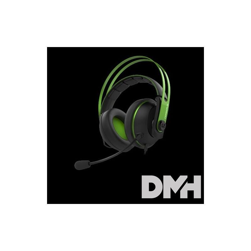 ASUS Cerberus V2 Gamer Fekete/Zöld headset