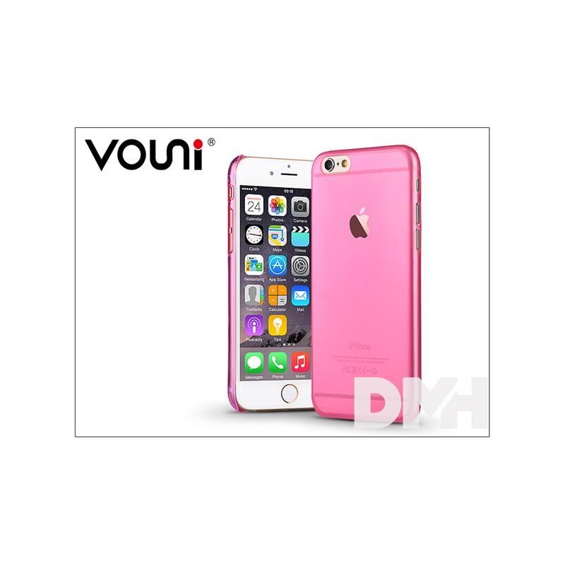 Vouni ST964351 SOFT iPhone 6/6S Crystal rózsaszín hátlap