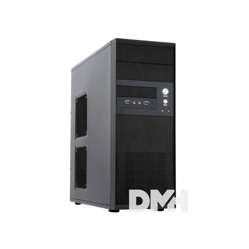 Chieftec CQ-01B-U3-OP Mesh szériás táp nélküli fekete mATX / ATX ház