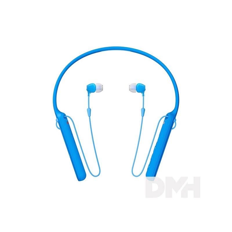 Sony WIC400 Bluetooth kék fülhallgató headset